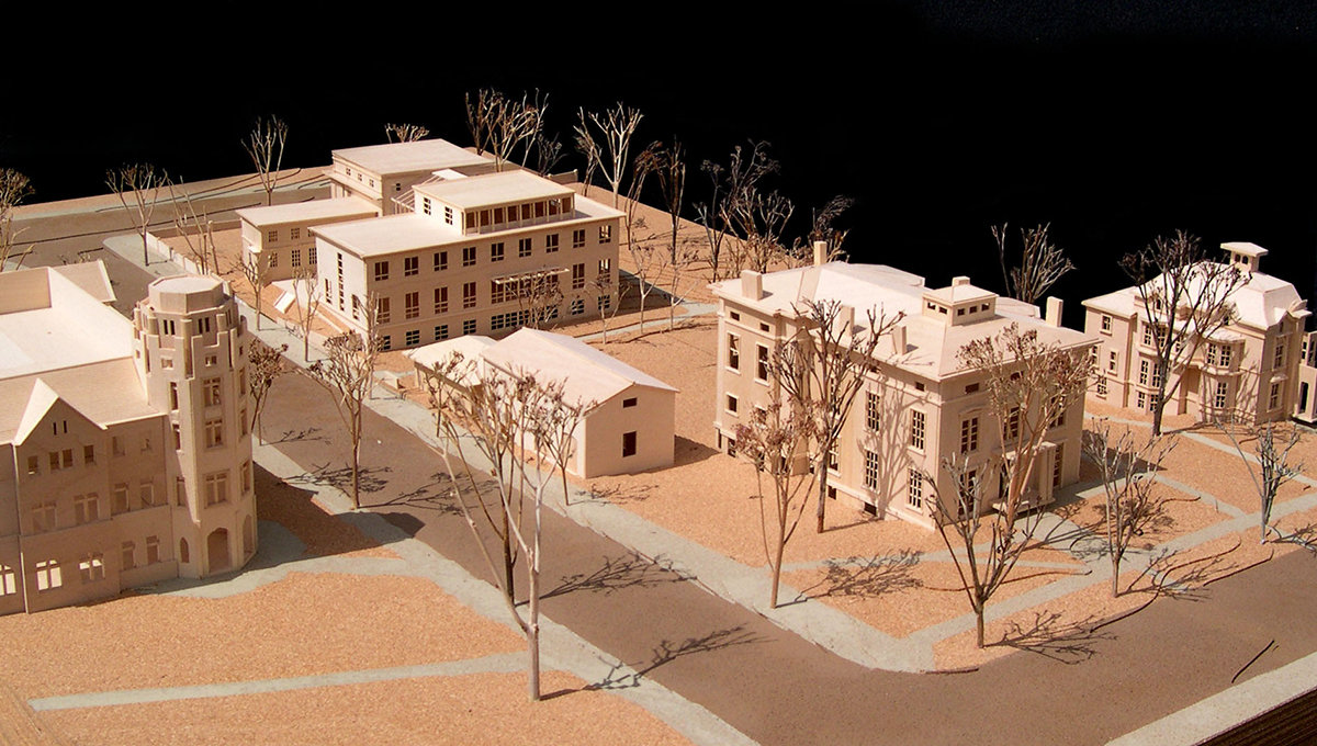 2 tskp yale university anthropology department site plan model 1400 xxx q85