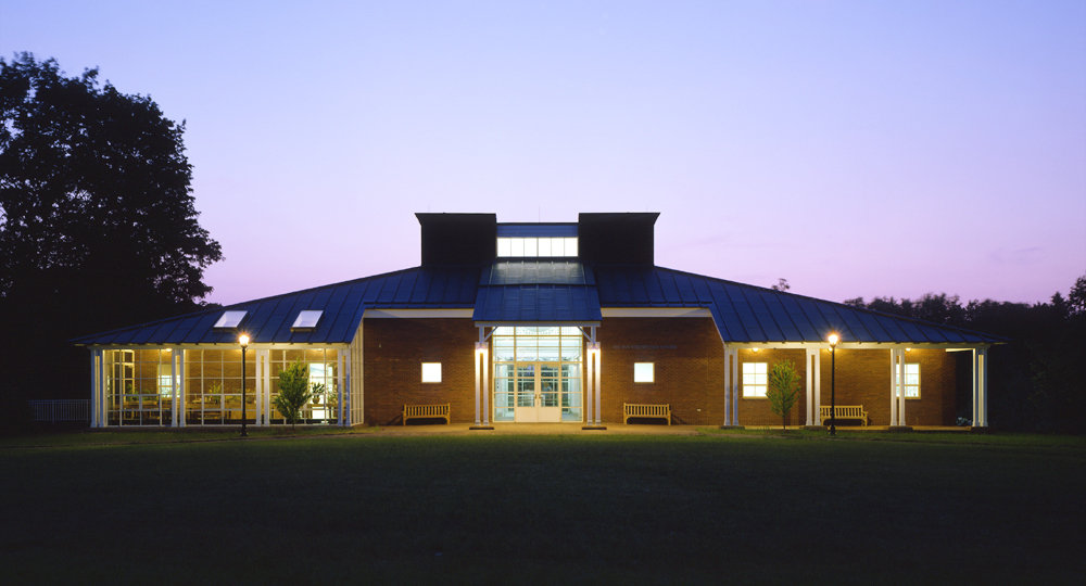 1 tskp farmington miss porters school ann whitney olin center exterior detail front of recreation center at sunset copy 1400 0x136x1000x540 q85