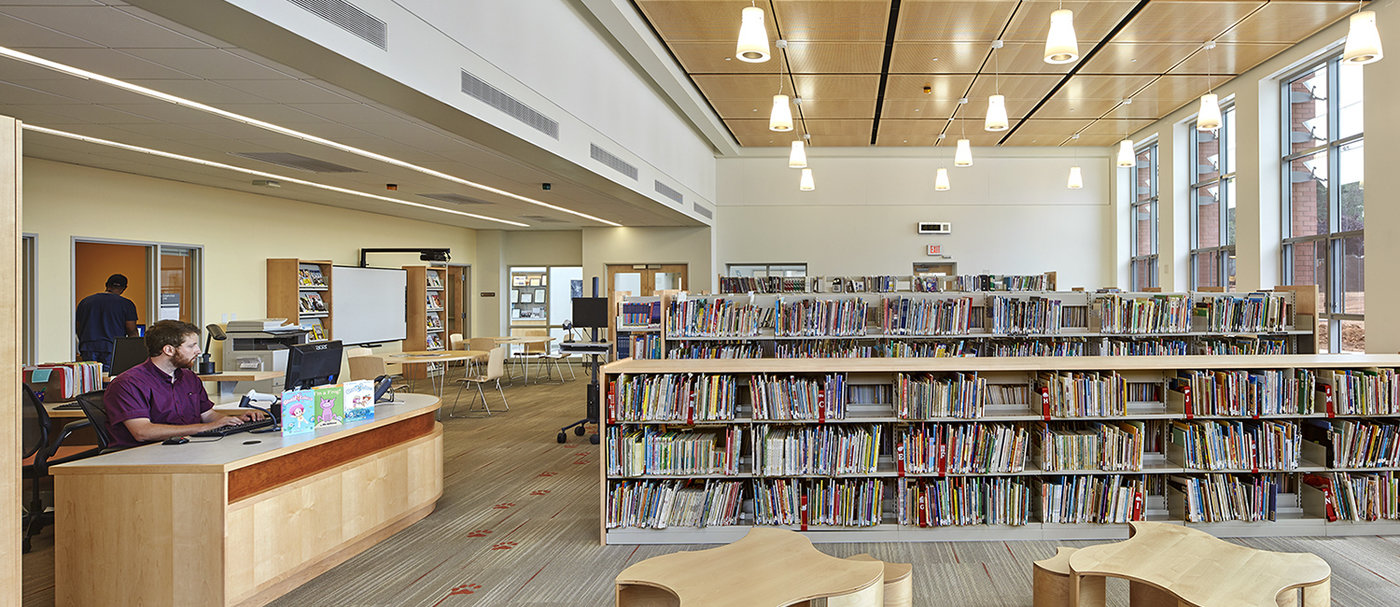 6 tskp american school deaf gallaudet clerc education center interior library reception desk 1400 0x93x1500x650 q85