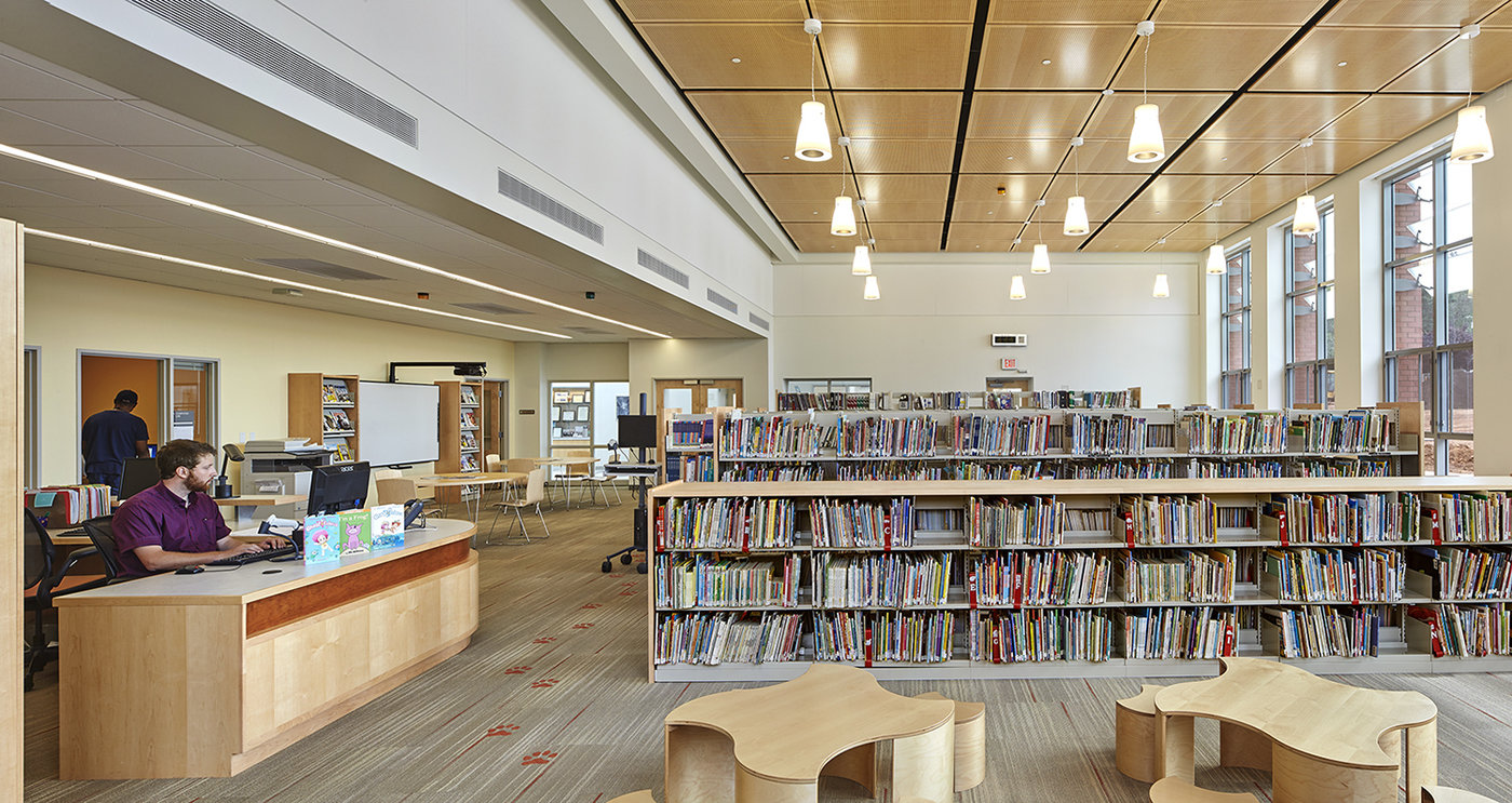 6 tskp american school deaf gallaudet clerc education center interior library reception desk 1400 xxx q85