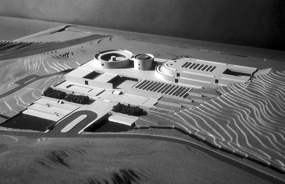 2 tskp korean ministry of culture national museum of contemporary art model site plan 1400 xxx q85