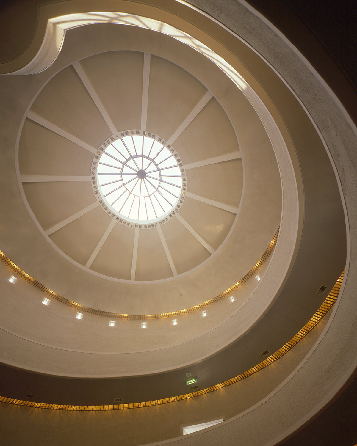6 tskp korean ministry of culture national museum of contemporary art interior detail rotunda lighting and skylight 1400 xxx q85