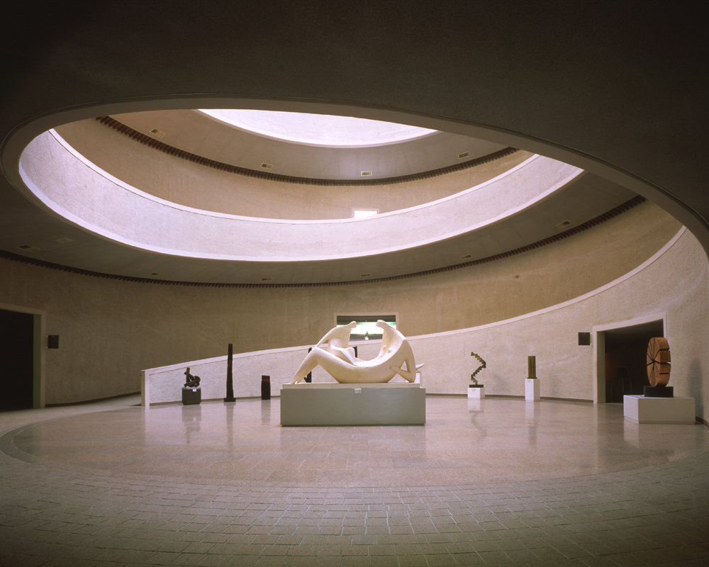 7 tskp korean ministry of culture national museum of contemporary art interior detail rotunda lighting and skylight gallery space 1400 xxx q85