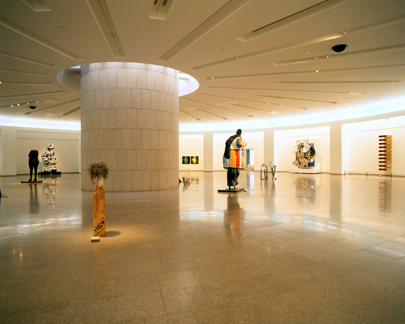 11 tskp korean ministry of culture national museum of contemporary art interior detail lighting and skylight round gallery space 1400 xxx q85